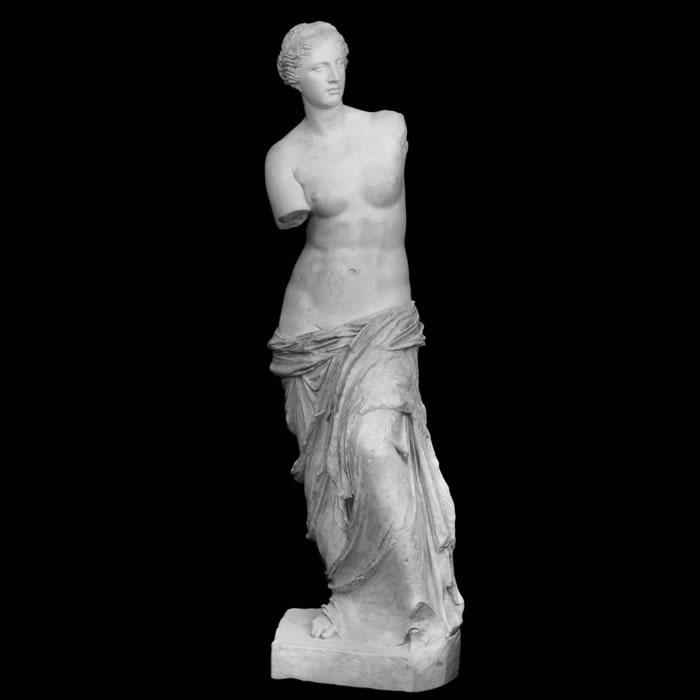 Vénus de Milo - Antiquités gréco-romaines - Reproduction d'une sculpture du Musée du Louvre, Paris