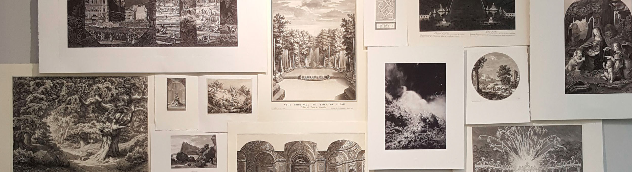 Wall decoration ideas: prints and engravings from the Louvre