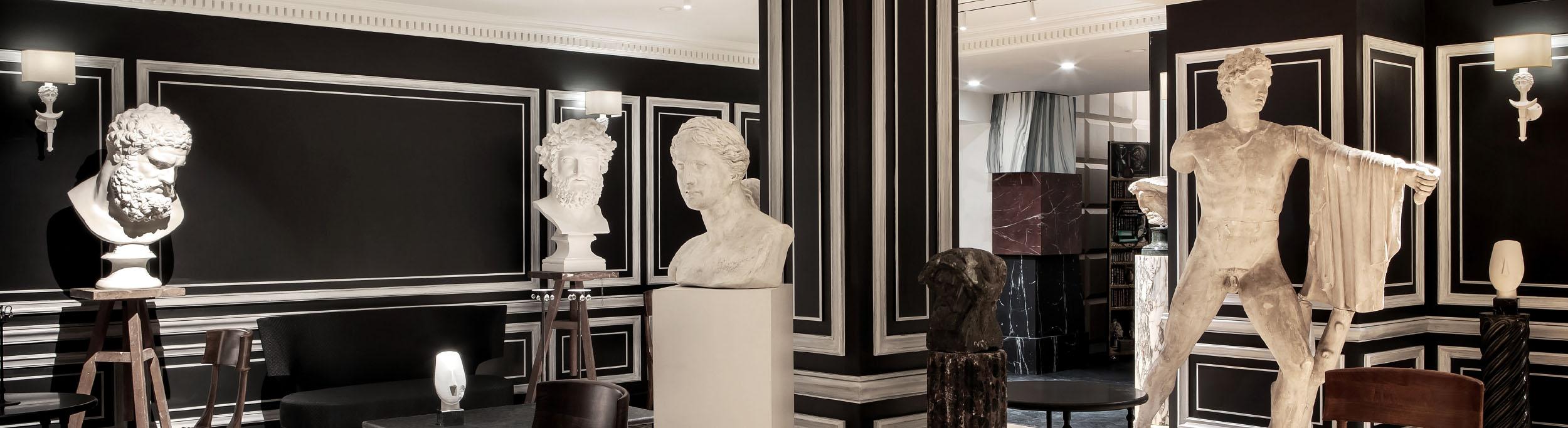 Large sculptures and statues for interior design – Decorative art ideas | Atelier de moulages du Louvre