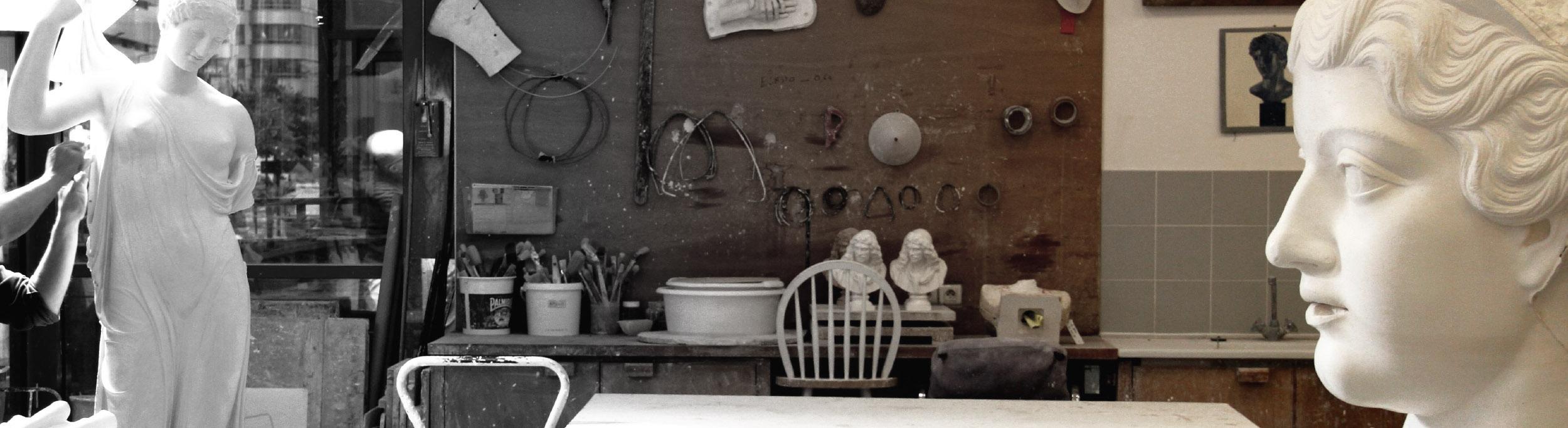 Museum sculptures reproductions | The Musées Nationaux cast workshop