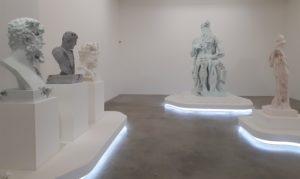 """Vernissage de l'exposition """"Paris,3020"""" de Daniel Asham à la Galerie Perrotin"""